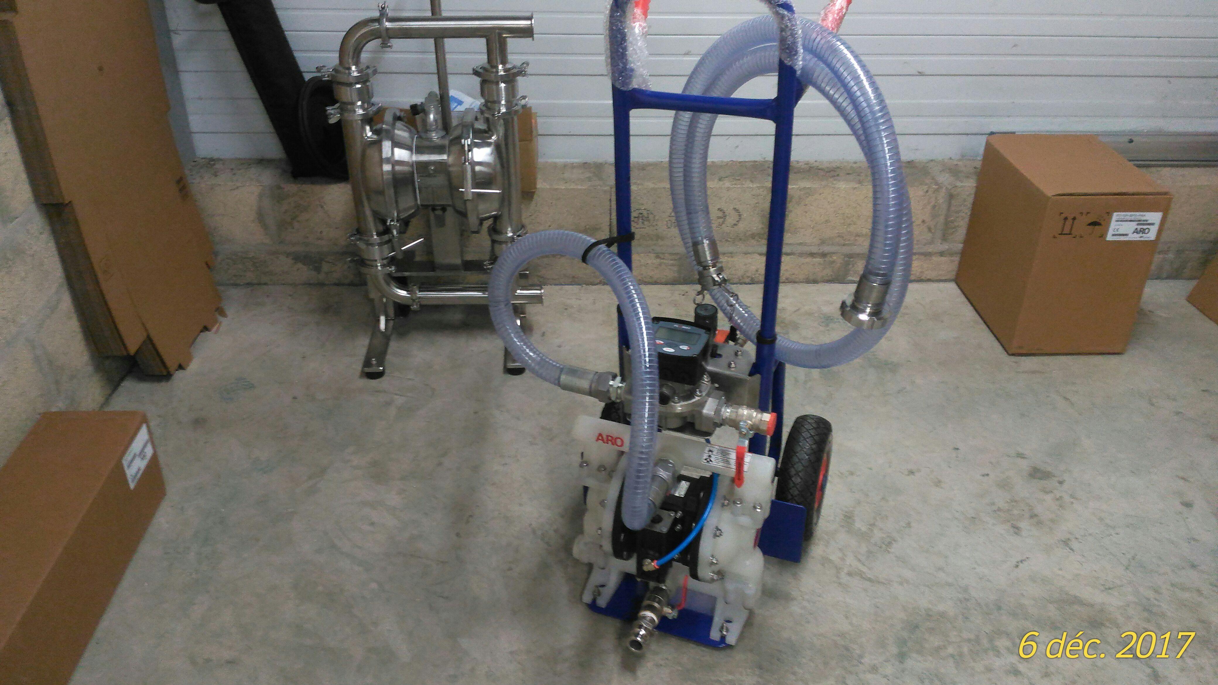 pompe mobile pneumatique